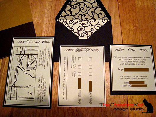 Free directions for wedding invitation orderecigsjuicefo our wedding the invitations birthday invitations stopboris Choice Image